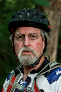 """""""I kept going and forcing the bike to go. There was a little tree and I kind of fell over, somehow, and hit my face."""" - Michael Cornwell."""