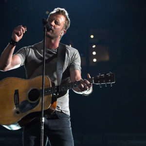 ARLINGTON, TX - APRIL 19:  Recording artist Dierks Bentley performs onstage during the 50th Academy Of Country Music Awards at AT&T Stadium on April 19, 2015 in Arlington, Texas.  (Photo by Kevin Winter/ACM2015/Getty Images for dcp)