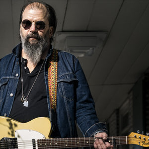 New York, New York - 3/10/2017. Portrait of American singer-songwriter Steve Earle photographed at Dyckman Farmhouse in New York. Photographed for his album So You Wannabe An Outlaw. CREDIT: Chad Batka