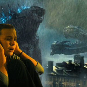 """''GODZILLA, KING OF THE MONSTERS"""""""